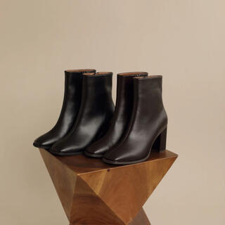 TODAYFUL - louren ショートブーツ square toe short boots