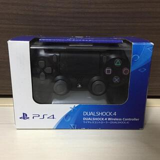 PlayStation4 - 新品 PS4 ワイヤレスコントローラー DUALSHOCK4 ブラック 純正