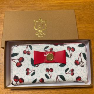 キューポット(Q-pot.)の送料無料 Q-pot 長財布 キューポット 福袋 2021 チェリー さくらんぼ(財布)