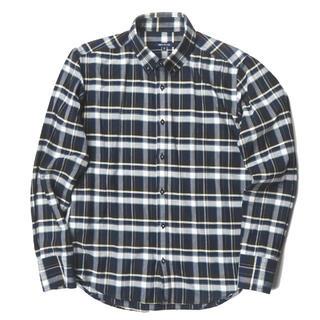 アバハウス(ABAHOUSE)のABAHOUSE コットンチェックBDシャツ 長袖シャツ メンズ(シャツ)
