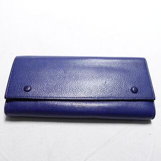 celine - [celine] 財布 ブルー