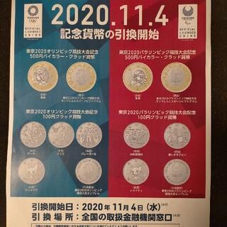 東京オリンピック記念硬貨四次発行1セット『ロール出し』
