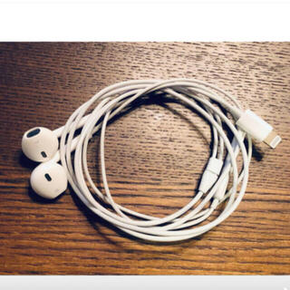 Apple - アップル純正 イヤホン iPhone 8付属品 ライニングタイプ 動作確認済