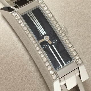 Gucci - 7.超美品 グッチ GUCCI 時計 110 36P ダイヤモンド