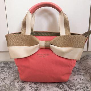 kate spade new york - 【美品】ケイトスペード♡KateSpadeミニリボンハンドバッグ