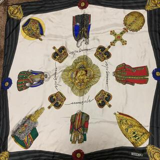 モスキーノ(MOSCHINO)のmoschino スカーフ(バンダナ/スカーフ)