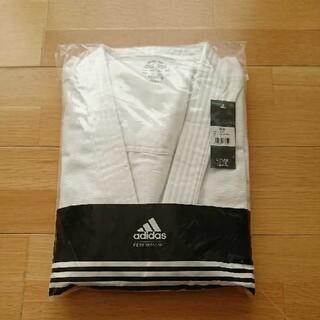 アディダス(adidas)の新品 adidas 練習用 柔道着 上下 白帯付き 180㎝ 5号 ホワイト 白(相撲/武道)