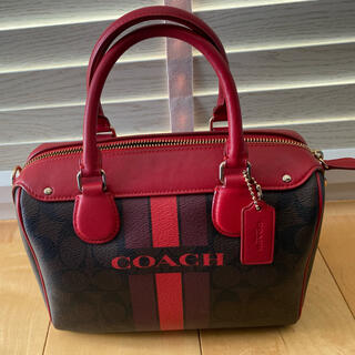 COACH - coachコーチ✳︎トートバッグ✳︎美品✳︎赤