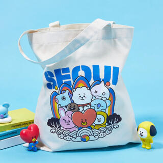防弾少年団(BTS) - bt21 Soul ソウル 韓国限定 エコバッグ トートバッグ