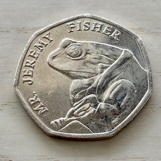 イギリス ピーターラビット ジェレミー・フィッシャーどん コイン