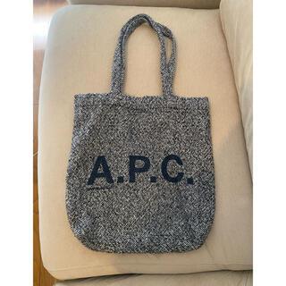 A.P.C - A.P.C アーペーセー バッグ エコバッグ トートバッグ ノベルティーバッグ