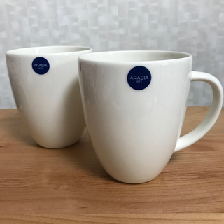 アラビア(ARABIA)の【新品・未使用品】ARABIA 24h マグカップ(ペア)340ml(グラス/カップ)
