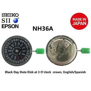 セイコー(SEIKO)の日本製セイコー(SII)ムーブメントNH36 / NH36A自動巻き(腕時計(アナログ))