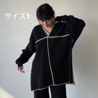 CLANE クラネ DOUBLE FACE LINE KNIT
