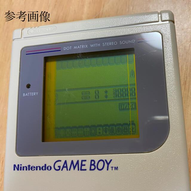 ゲームボーイ(ゲームボーイ)の初代ゲームボーイ ジャンク 部品取り用 エンタメ/ホビーのゲームソフト/ゲーム機本体(携帯用ゲーム機本体)の商品写真
