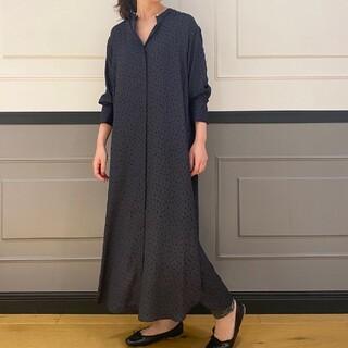 IENA - 新品IENAバンドカラーシャツワンピース38サイズ