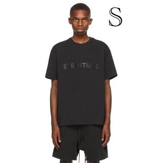 フィアオブゴッド(FEAR OF GOD)のEssentials Black T-SHIRT S(Tシャツ/カットソー(半袖/袖なし))