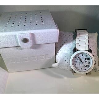 DIESEL - DIESEL ディーゼル 腕時計 白 ホワイト DZ-5306