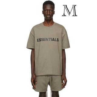 フィアオブゴッド(FEAR OF GOD)のEssentials Taupe T-SHIRT M(Tシャツ/カットソー(半袖/袖なし))