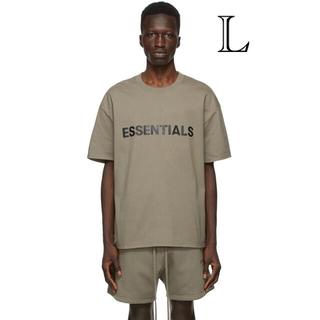 フィアオブゴッド(FEAR OF GOD)のEssentials Taupe T-SHIRT L(Tシャツ/カットソー(半袖/袖なし))