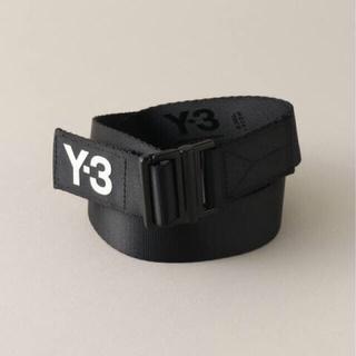Y-3 - 【定価1万】新品 Y-3 LOGO BELT/BLACK Lサイズ 黒 送料無料