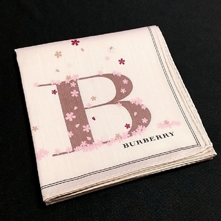 BURBERRY - バーバリー ハンカチ 桜