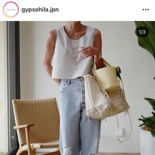 Gypsohila ノースリーブブラウス