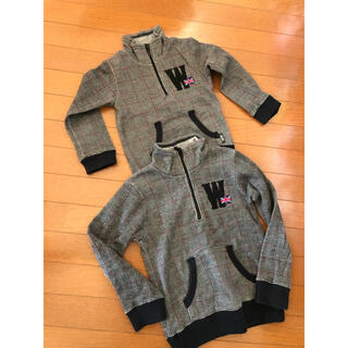 ワスク(WASK)の子供服 WASK bebe トレーナー 110と130 美品(Tシャツ/カットソー)