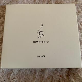QUARTETTO(初回盤) NEWS カルテット アルバム (ポップス/ロック(邦楽))