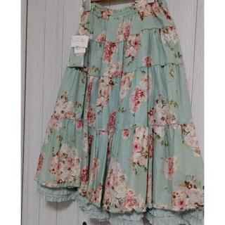 PINK HOUSE - ピンクハウス♡ローズブーケプリントスカート新品未使用タグ付き❣️