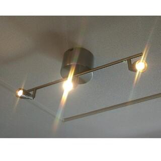 イケア(IKEA)のIKEA RYMDEN LED シーリングライト スポットライト 3個 イケア(天井照明)