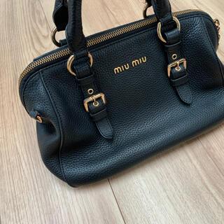 miumiu - miu miu ハンドバッグ☆黒