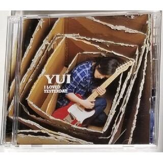YUI CDA CDアルバム I LOVED YESTERDAY 初回限定盤(ポップス/ロック(邦楽))
