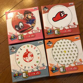 バンダイ(BANDAI)のスーパーマリオ 豆皿 4個セット 新品 (食器)