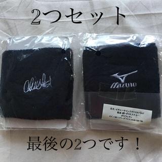 MIZUNO - イチロー 刺繍サイン入りリストバンド ミズノ 限定非売品 MIZUNO