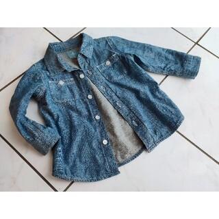 ベビーギャップ(babyGAP)のデニムシャツ ダンガリーシャツ ベビーギャップ 90(Tシャツ/カットソー)