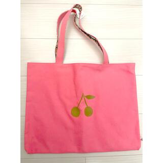 Bonpoint - パリ発★ボンポワン★リバティトートバッグ リバーシブル新品タグ付き ピンク