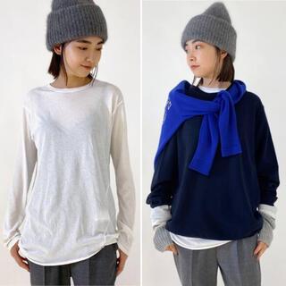 L'Appartement DEUXIEME CLASSE - 新品 AP STUDIO 追加 Distortion Tシャツ ホワイト