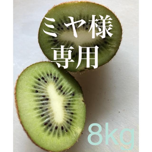 広島県産 無農薬 キウイフルーツ 8kg 食品/飲料/酒の食品(フルーツ)の商品写真