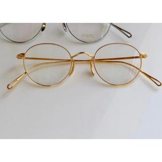 Ayame - ayame アヤメ MANRAY GOLD マンレイ 眼鏡 メガネ ゴールド