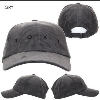ロキシー(Roxy)のロゴ刺繍 コーデュロイキャップ ROXY(キャップ)