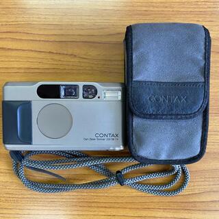 キョウセラ(京セラ)のコンタックスT2 チタンシルバー(フィルムカメラ)