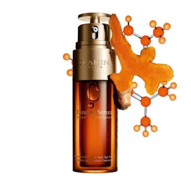 CLARINS(クラランス)のCLARINS ダブルセーラムEX 50ml 新品未使用 コスメ/美容のスキンケア/基礎化粧品(美容液)の商品写真