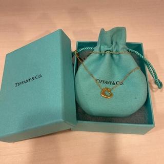Tiffany & Co. - ティファニー オープンハート イエローゴールド 11ミリ Tiffany