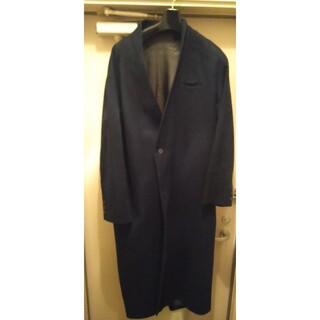 Yohji Yamamoto - ka na ta 2mm long coat indigo