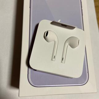 アイフォーン(iPhone)のiPhone ケーブルイヤホン(ヘッドフォン/イヤフォン)
