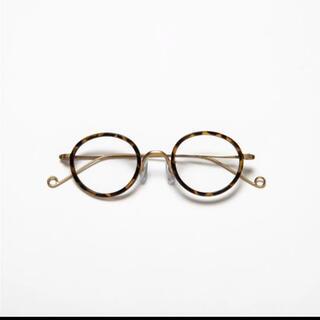 ジンズ(JINS)のCiqi ハービー Vintage Brown ブルーライトカットメガネ(サングラス/メガネ)