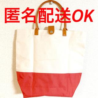 【未使用】2WAYカラフルバック トートバッグ ベージュ 送料込 エコバッグ(エコバッグ)