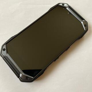 キョウセラ(京セラ)のau TORQUE G04 KYV46 Black SIMロック解除済み(スマートフォン本体)