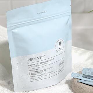 【新品未使用】VELY VELY (ブリーブリー) 酵素ミルク洗顔パウダー27包